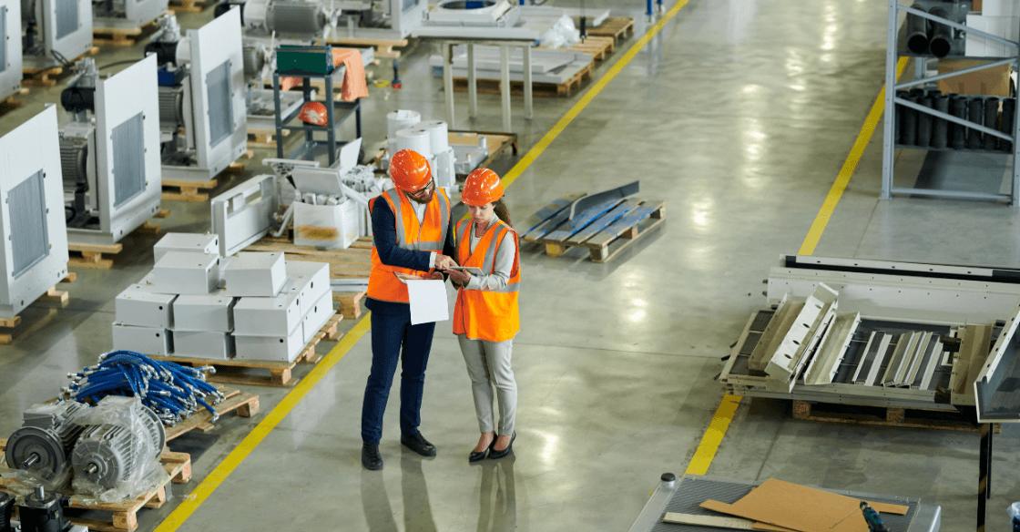 OSHA inspection at a factory