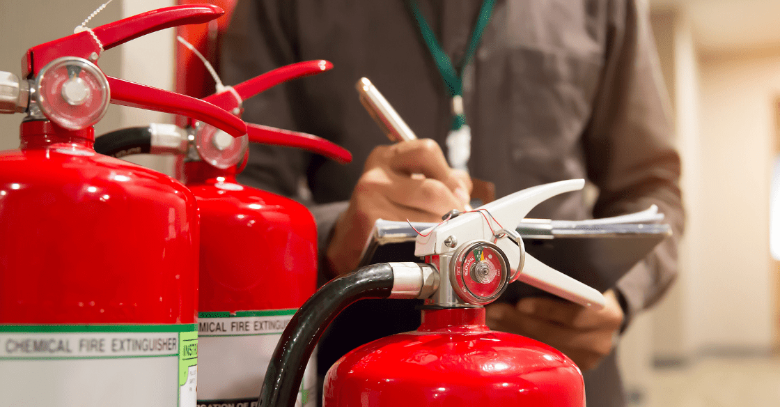 Fire extinguisher audit